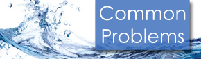Common Problems Button - Water Treatment Systems